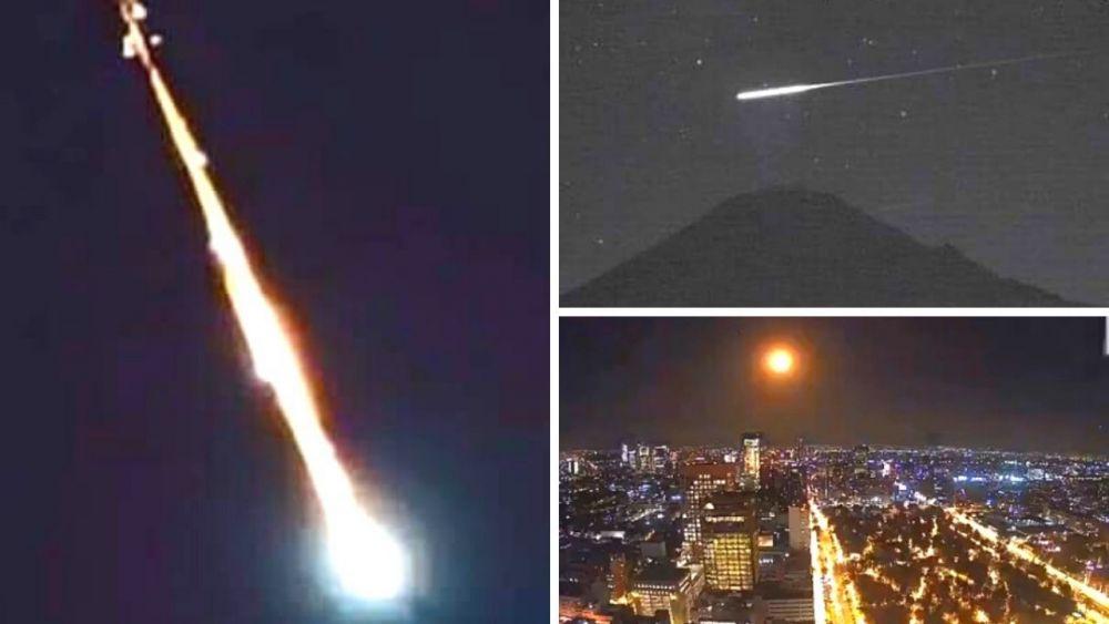 Meteorito ilumina México y usuarios publican videos en redes sociales