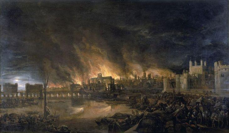 Gran incendio en Londres