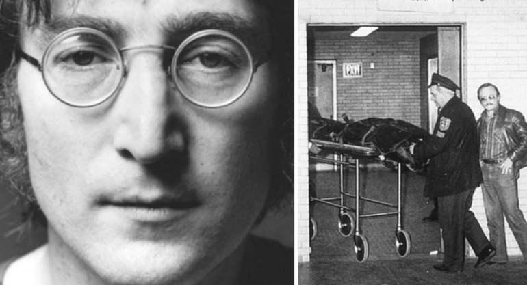 Muere John Lennon un grande
