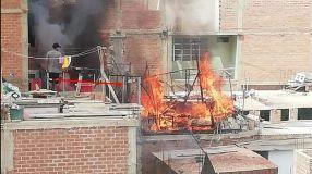 ¡Terrible! Dos niños murieron tras incendiarse su casa en Lurín