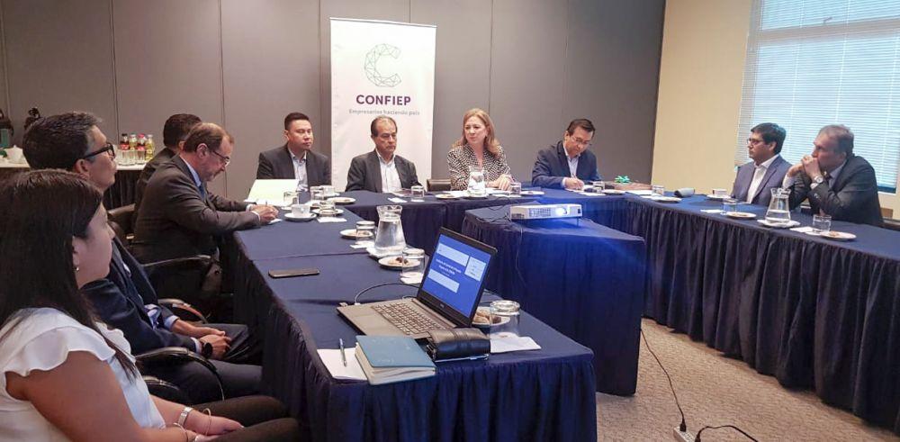 Confiep promoverá política pública con Comité para la Pequeña Empresa MYPE