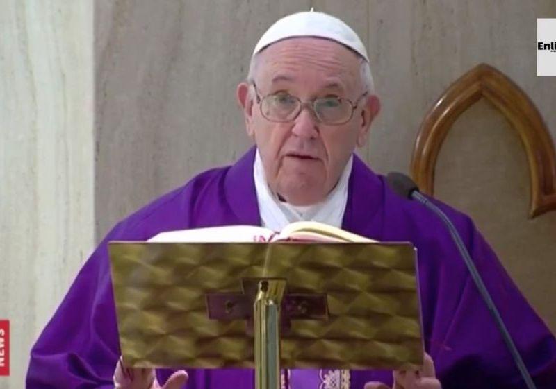 "Papa Francisco a familias en cuarentena por coronavirus: ""No pierdan la paz"""
