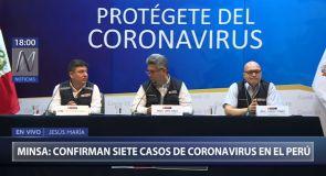 Minsa confirma un nuevo caso de coronavirus en el Perú