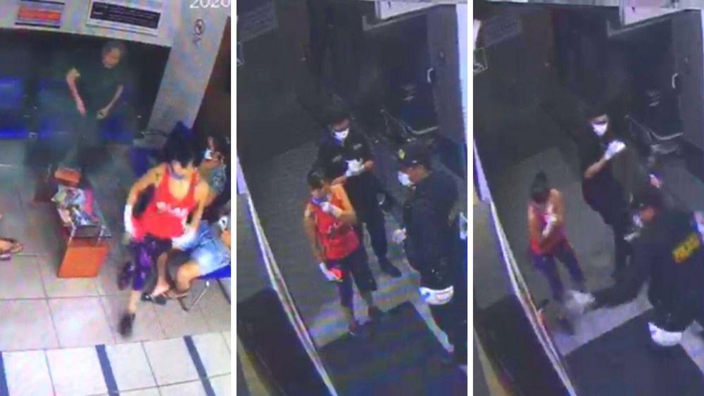 Difunden video de ataque a Angie Jibaja y policías