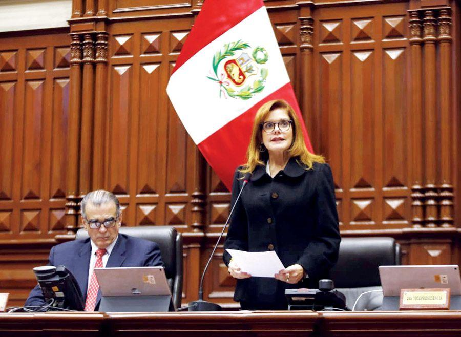 Mercedes Aráoz Fernández no es más vicepresidenta de la República