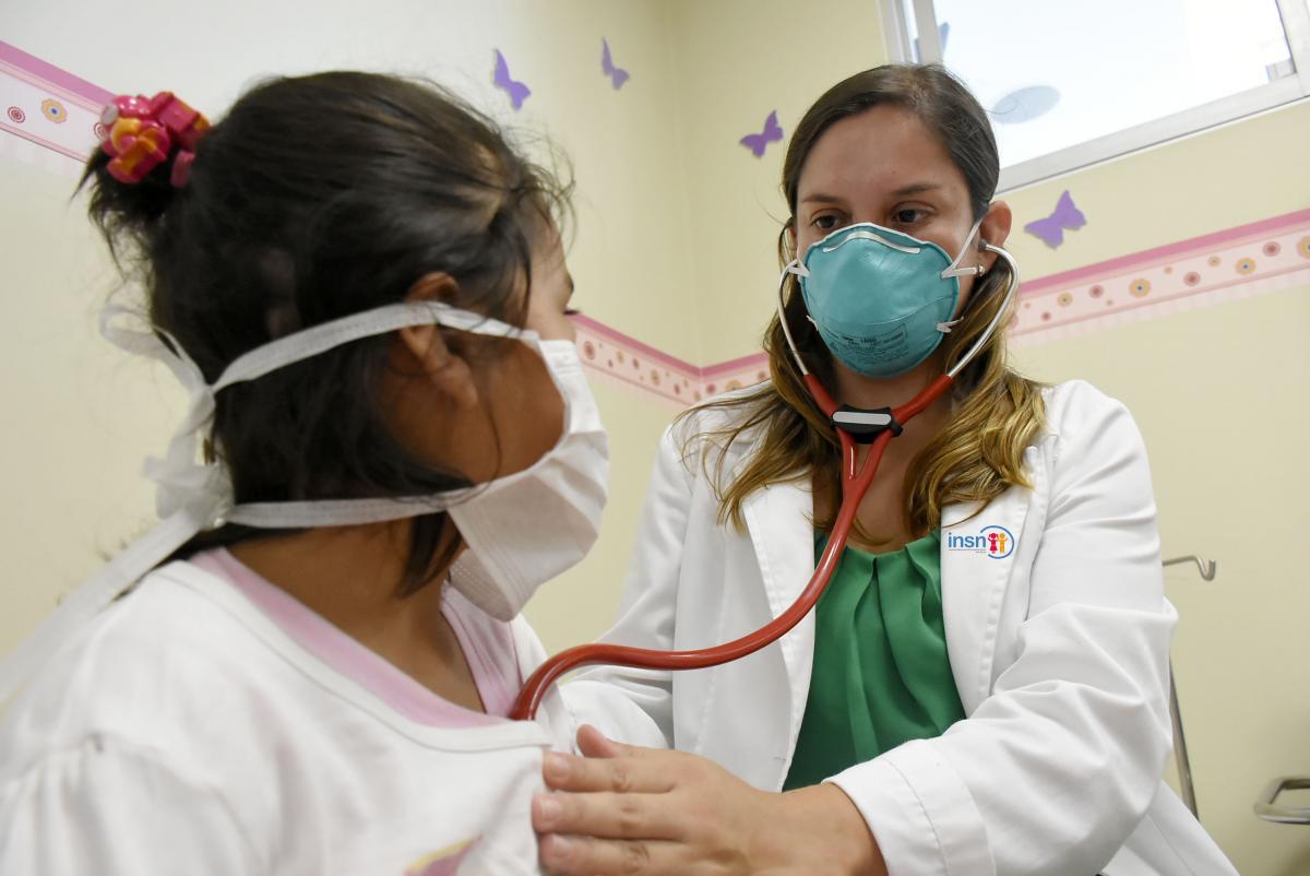 Infecciones respiratorias en niños menores de 5 años