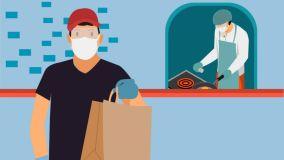 Cinco pasos que debe cumplir el servicio a domicilio de restaurantes