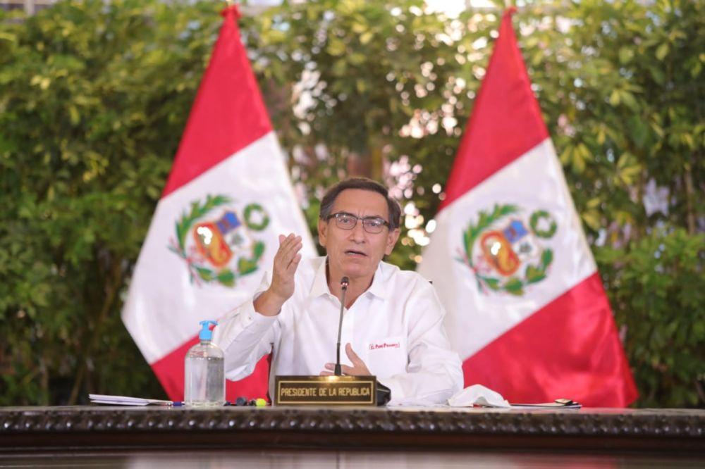 La cuarentena se amplía por dos semanas más anunció el presidente Martín Vizcarra