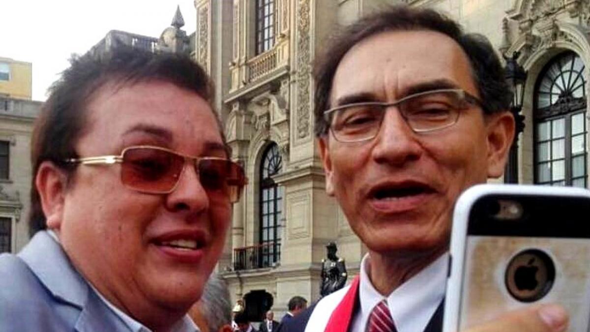 Richard Swing y Martín Vizcarra