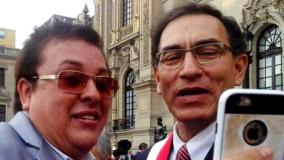 Richard Swing y Martín Vizcarra