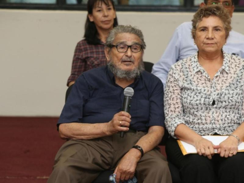 Elena Iparraguirre y Abimael Guzmán