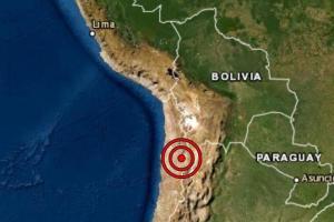 Sismo de magnitud 6.8 con epicentro en Chile se sintió en Tacna