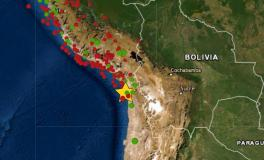 Sismo de magnitud 6.0 se sintió en Tacna y epicentro se ubicó en Chile