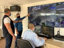 Surco inaugura módulos de videovigilancia para seguridad ciudadana y contra el Covid-19
