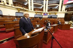 Congreso no otorgó voto de Confianza al Gabinete Ministerial presidido por Pedro Cateriano