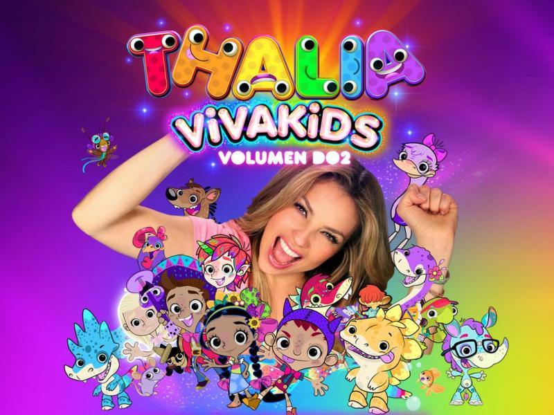 Thalía sorprende y llega con canciones infantiles a Discovery Kids