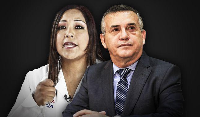 Daniel Urresti y Cecilia García (Foto La República)
