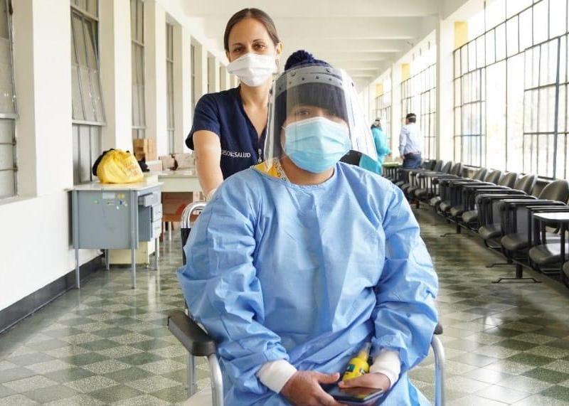 Última sobreviviente de deflagración en Villa El Salvador es dada de alta