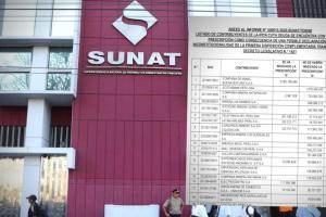 SUNAT: Congresista difunde lista de grandes empresas peruanas con deudas tributarias