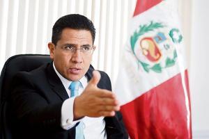 Amado Enco renunció al cargo de procurador anticorrupción