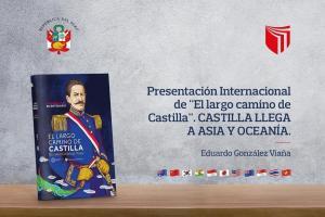 Libro sobre Ramón Castilla llega a Asia y Oceanía