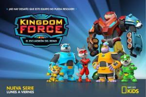 Nat Geo Kids trae acción y aventura con el estreno de Kingdom Force: El escuadrón del reino