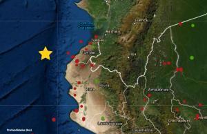 Temblor en Piura: Sismo de magnitud 5.4 se registró hoy en Talara