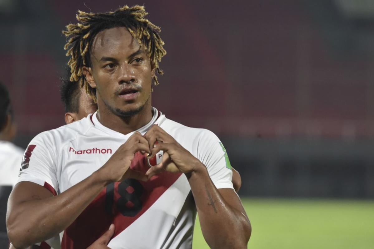 Peruano André Carrillo supera en tendencias de búsquedas a brasileños Weverton y Douglas Luiz