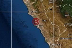 Sismo de magnitud 4.0 se registró hoy 24 de octubre en Lima