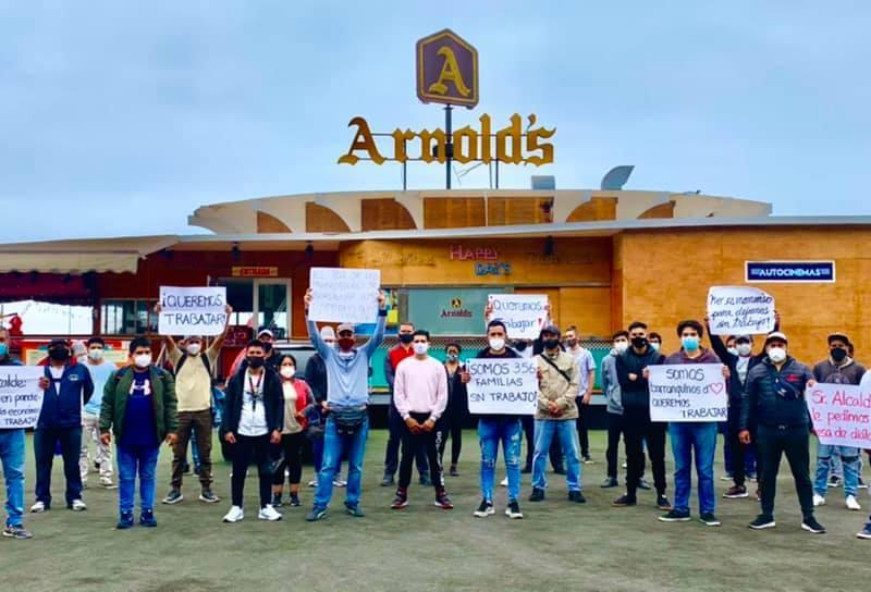 Trabajadores de los restaurantes de Bordemar y sus familias piden ayuda
