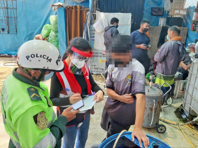 Sunafil detectó a adolescente que trabaja 12 horas seguidas en Lima