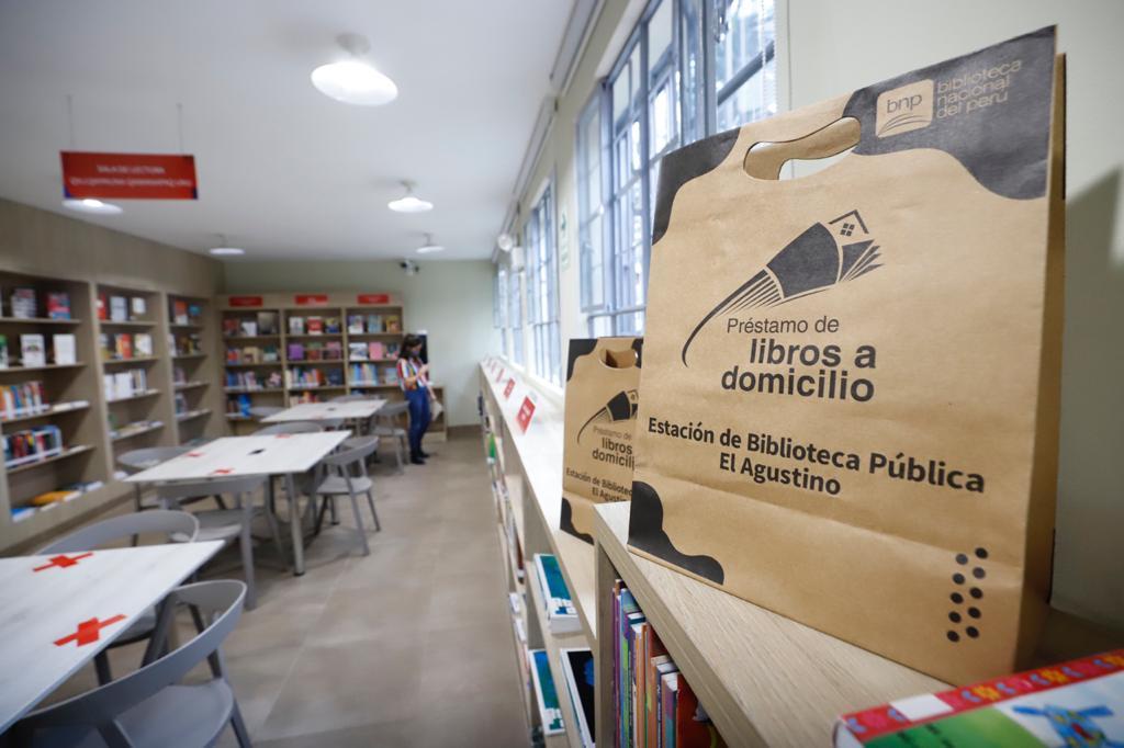 Ministerio de Cultura inauguró remodelada Estación de la Biblioteca Pública de El Agustino