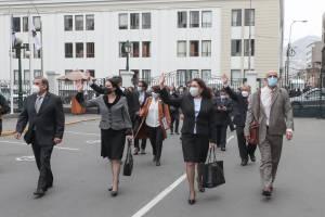 Congreso otorgó el voto de confianza al Gabinete Ministerial liderado por Violeta Bermúdez