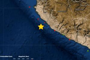 Cinco sismos en un día sacuden Marcona hoy 20 de enero del 2020