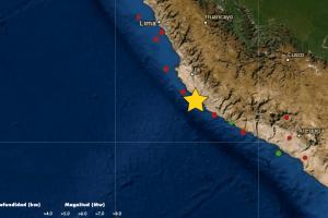 Temblor en Ica: Fuerte sismo de magnitud 5.6 sacudió Marcona hoy 20 de enero
