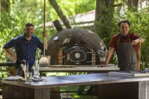 """El Gourmet presenta """"Panes y postres al fuego"""" con Roberto Petersen y Juan Manuel Herrera"""