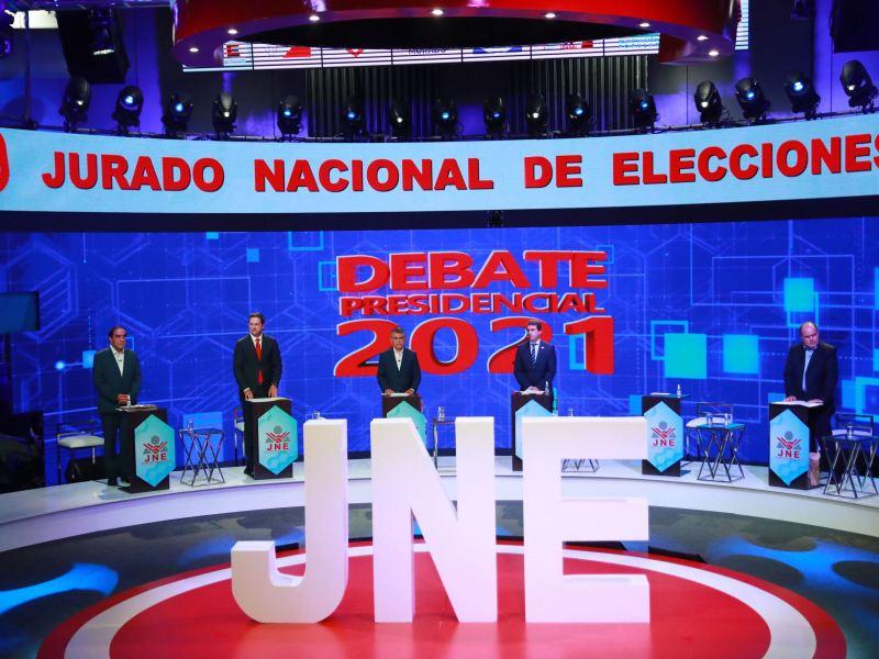 Tercer debate presidencial en vivo