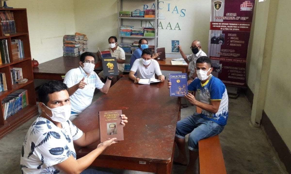 Bibliotecas en penales del Perú