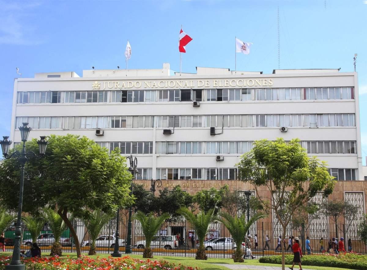 Sede del JNE en Lima