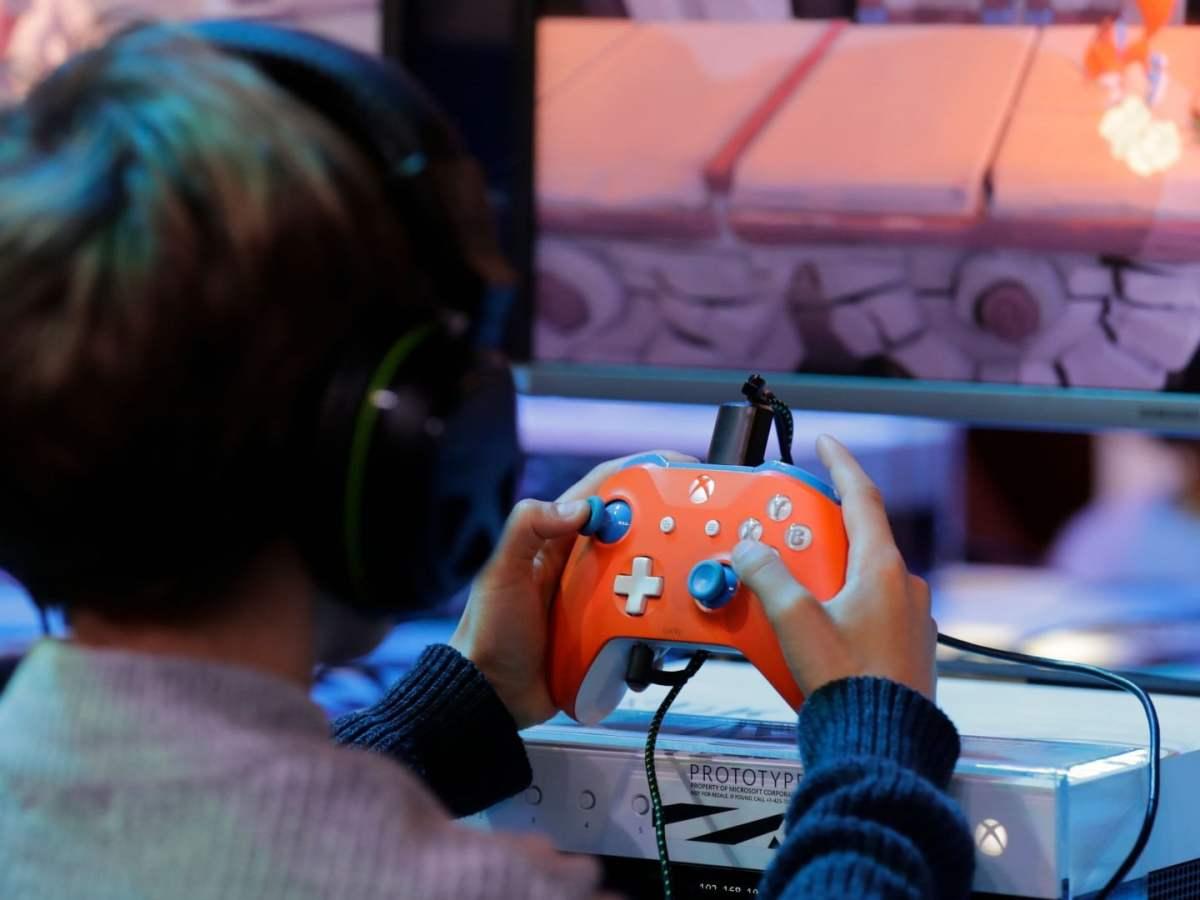 Niños en videojuegos