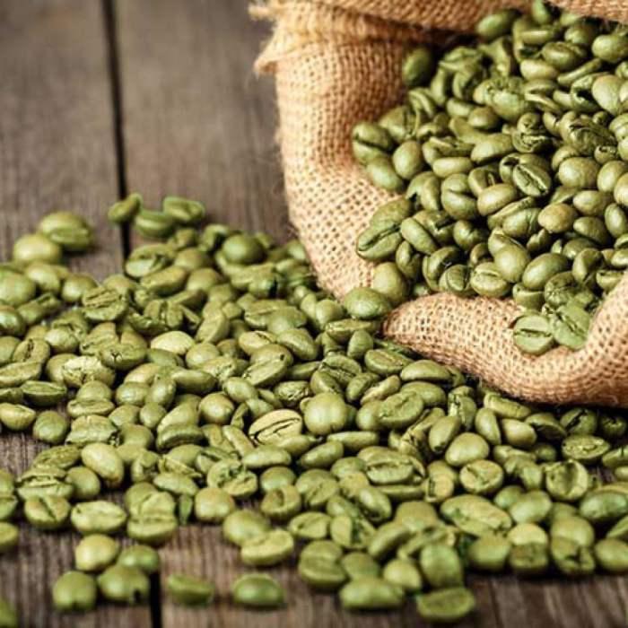 Café peruano de grano verde