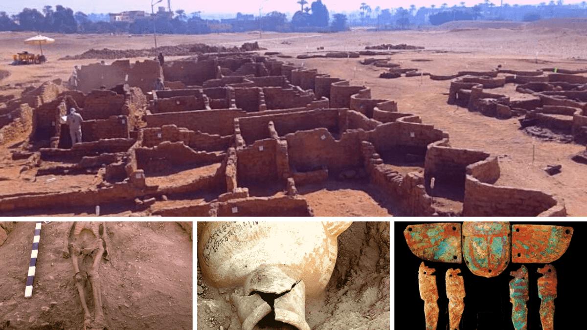 Hallazgo de la ciudad perdida de Luxor