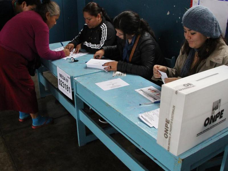 Mujeres en elecciones