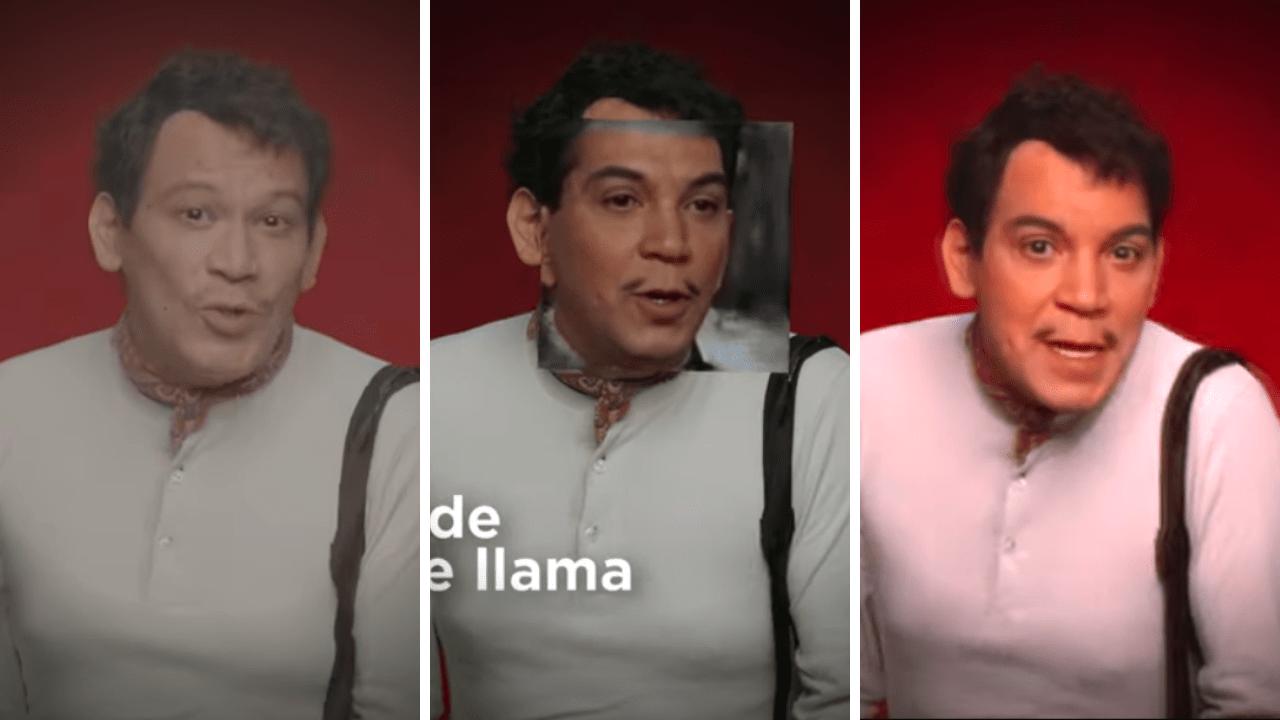Así revivieron a Cantinflas en un comercial de TV