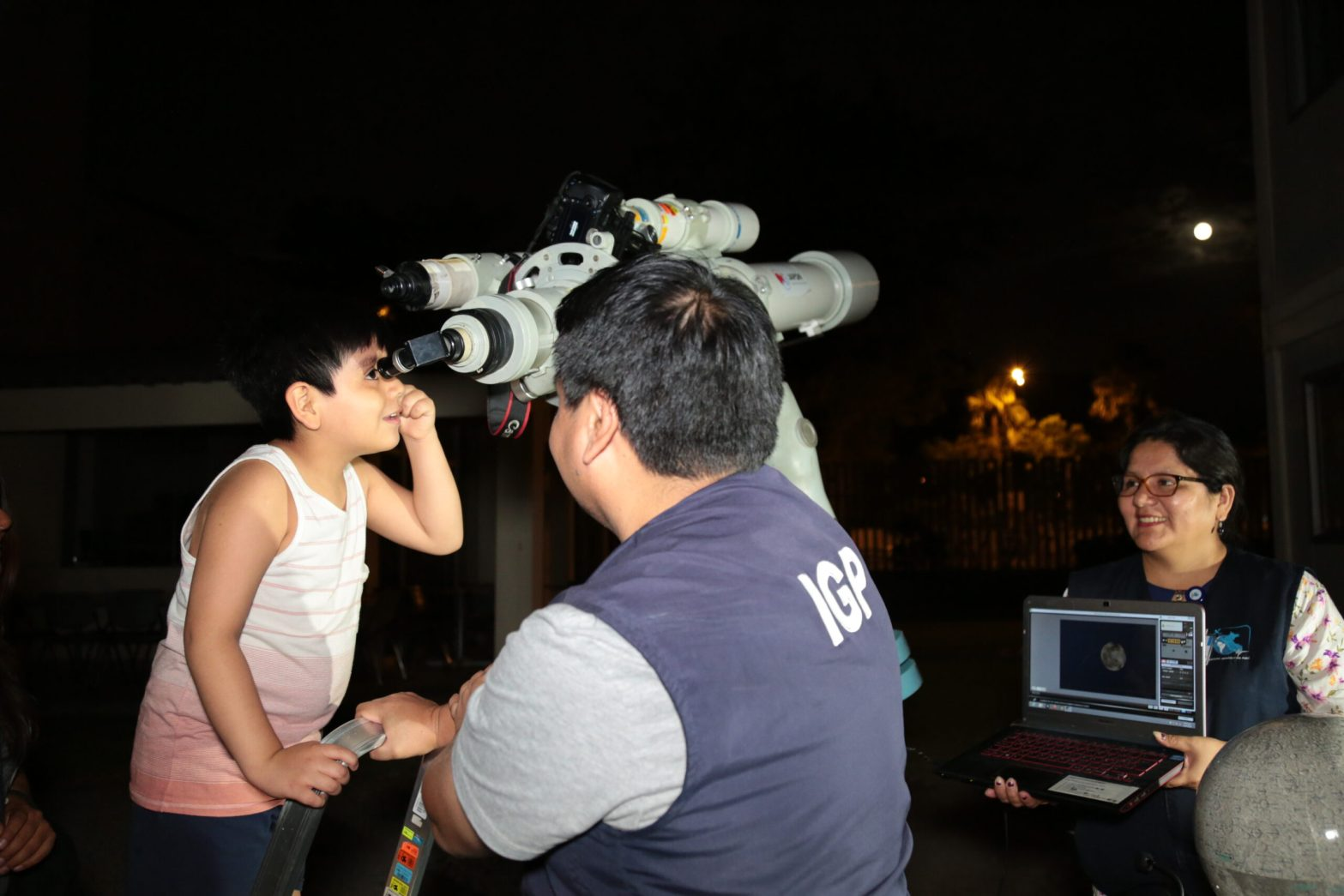 IGP anuncia espectáculo lunar