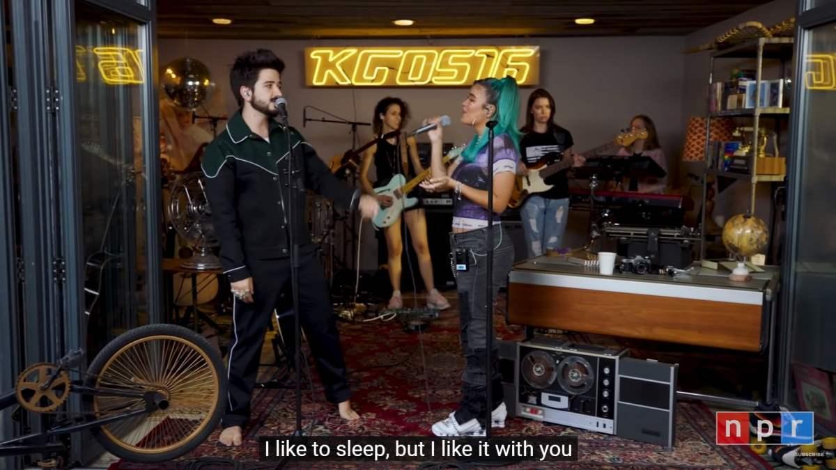 Karol G y Camilo en vivo