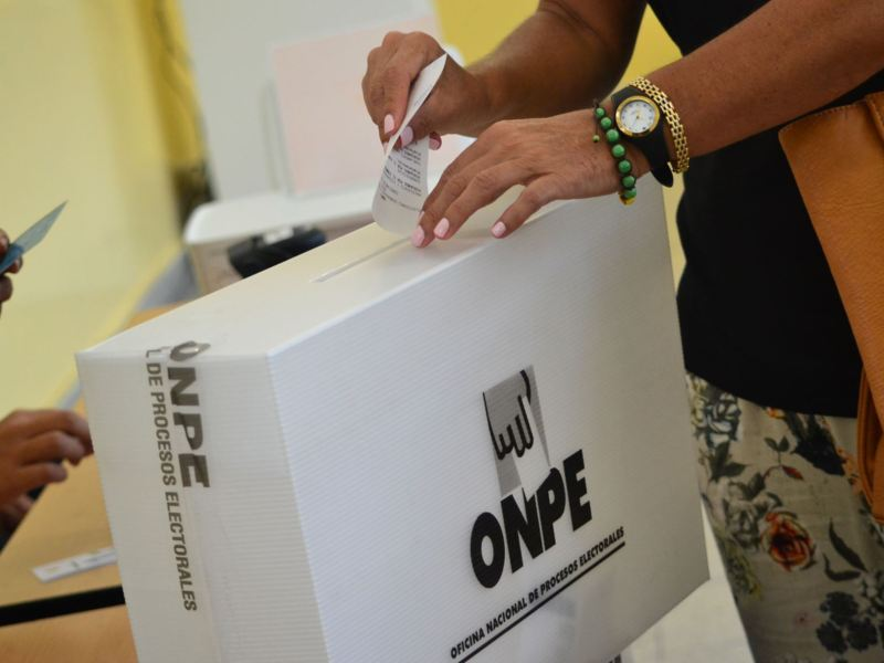 Dónde votar, buscar local de votación