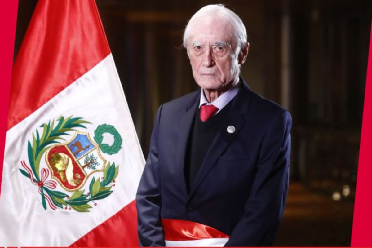 Canciller Héctor Béjar renunció