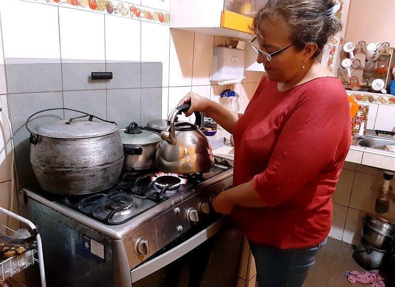 Gas domestico en Perú