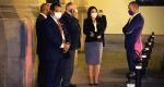 Congresistas a la espera de hablar con Pedro Castillo (Foto Karina Reynafarge)